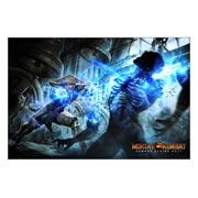 Неформатный постер Mortal Kombat